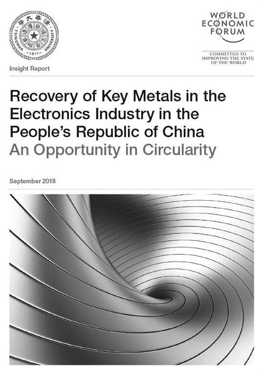 Recovery of Key Metals in the Electronics Industry in the People's Republic of China image